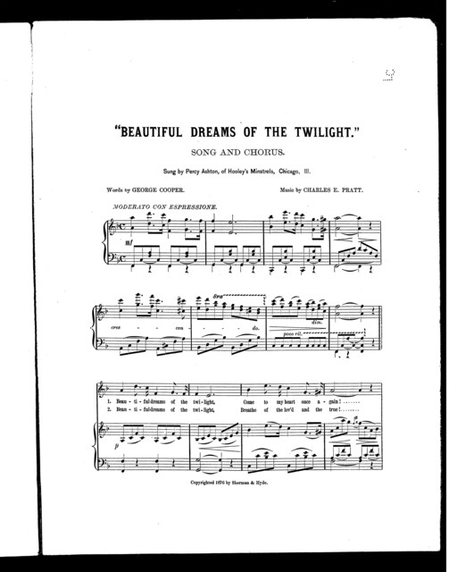Beautiful dreams of the twilight
