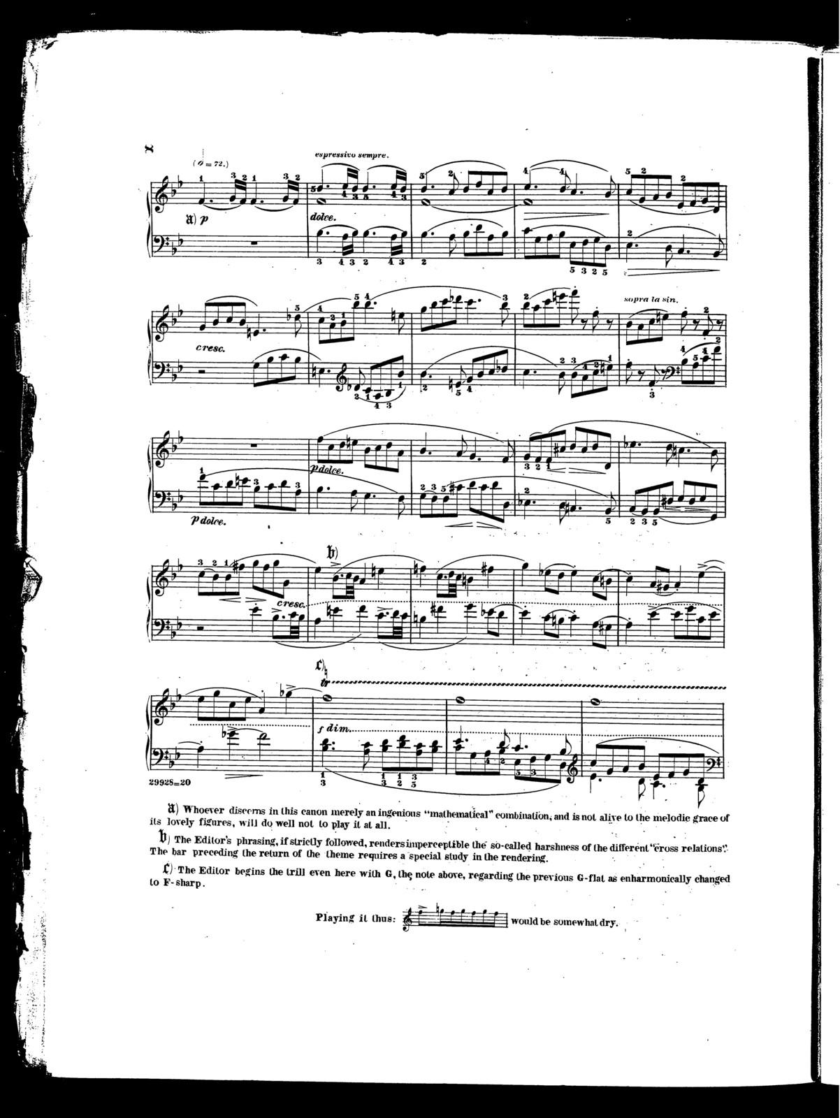 Beethoven's Sonatas, op. 101
