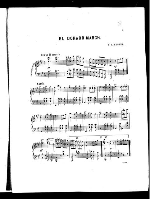 El Dorado march