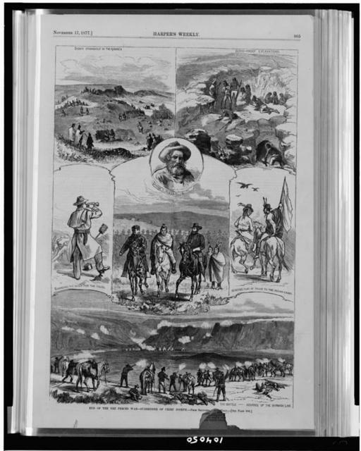 End of the Nez Percés War--surrender of Chief Joseph