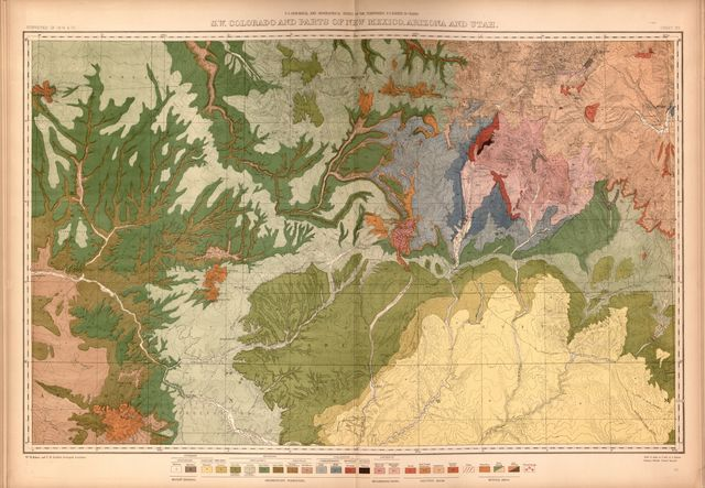 Geological and geographical atlas of Colorado and portions of adjacent territory,
