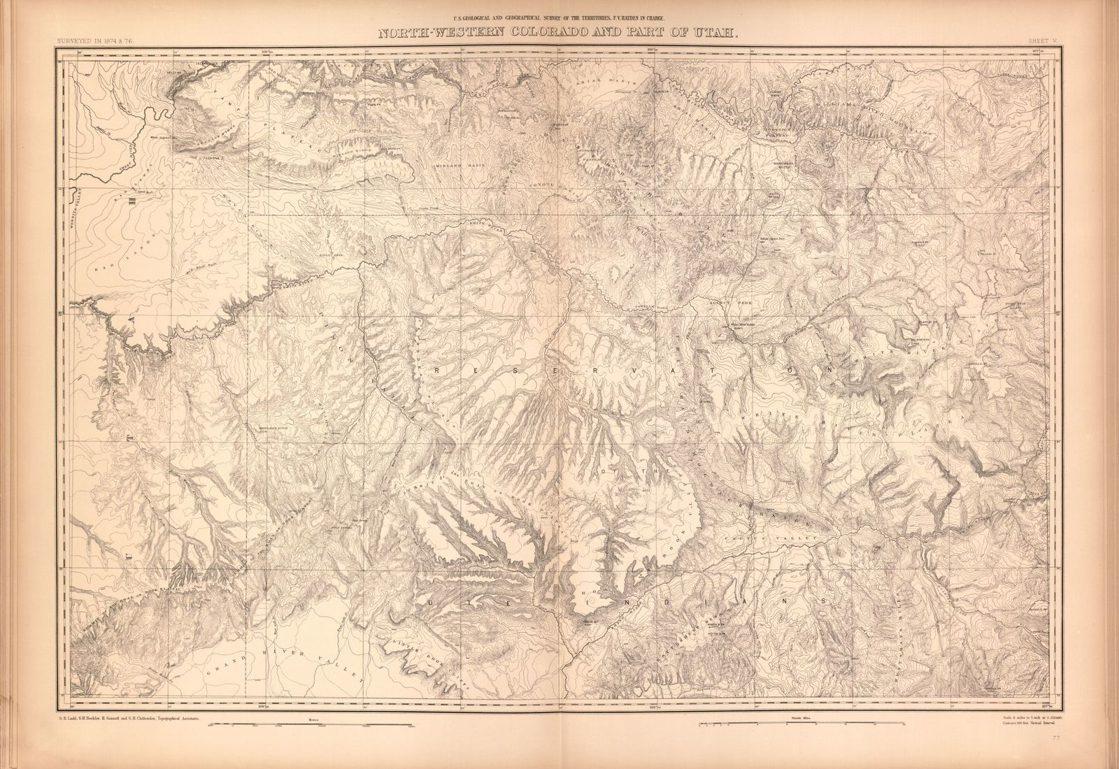 Geological and geographical atlas of Colorado and portions of ...