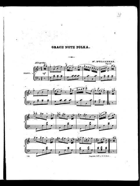 Grace note polka