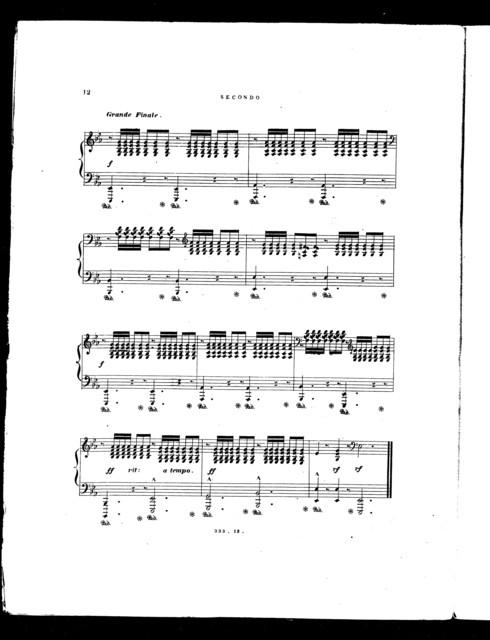 Grand concert variations on maiden's prayer