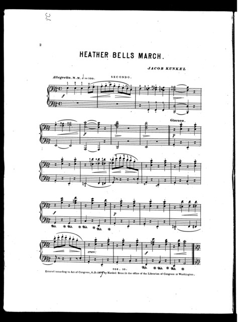 Heather bells march