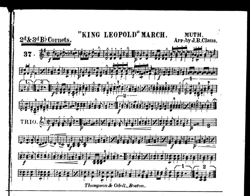 """ King Leopold"" march"