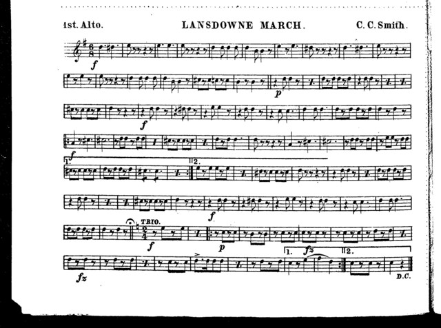 Lansdowne march