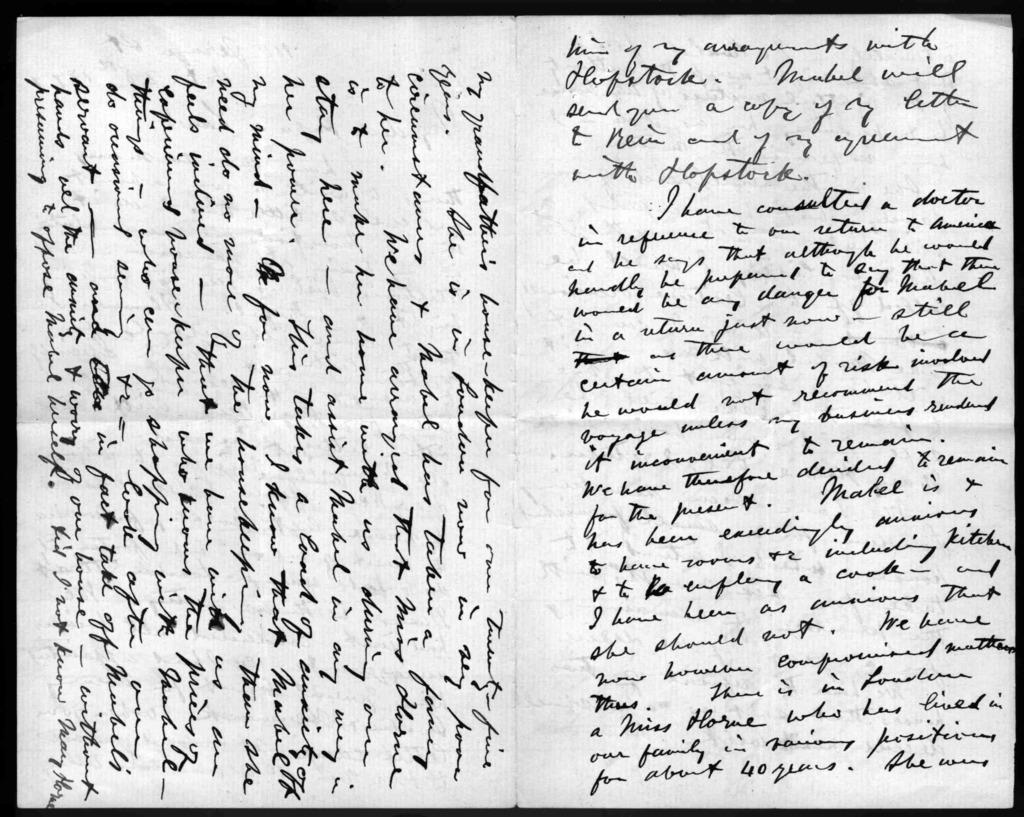 Letter from Alexander Graham Bell to Gardiner Greene Hubbard, October 28, 1877