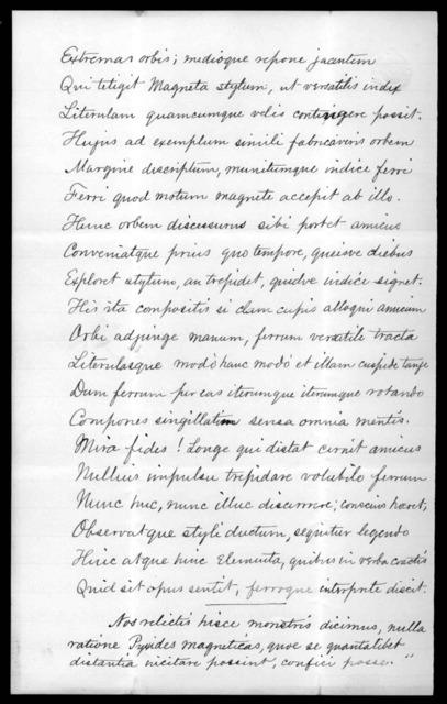 Letter from Eli W. Blake, Jr. to Alexander Graham Bell, February 10, 1877
