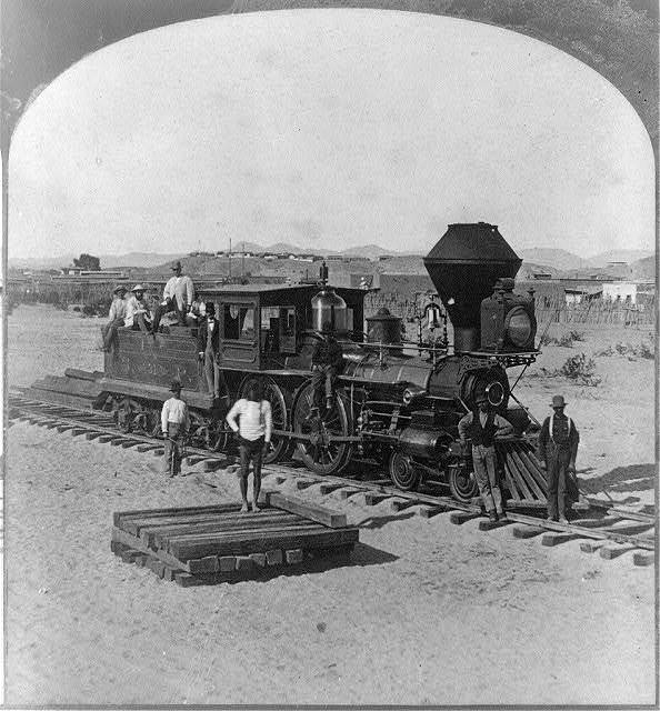"Old ""31"" the Pioneer engine of Arizona"