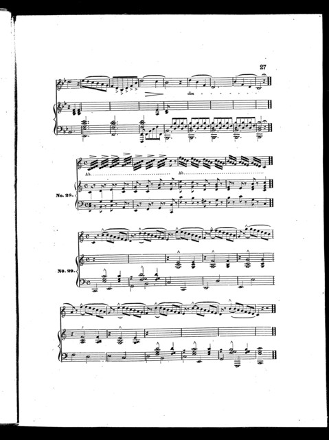 Peters' edition of standard vocal exercises