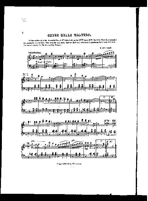 Seven bells waltzes