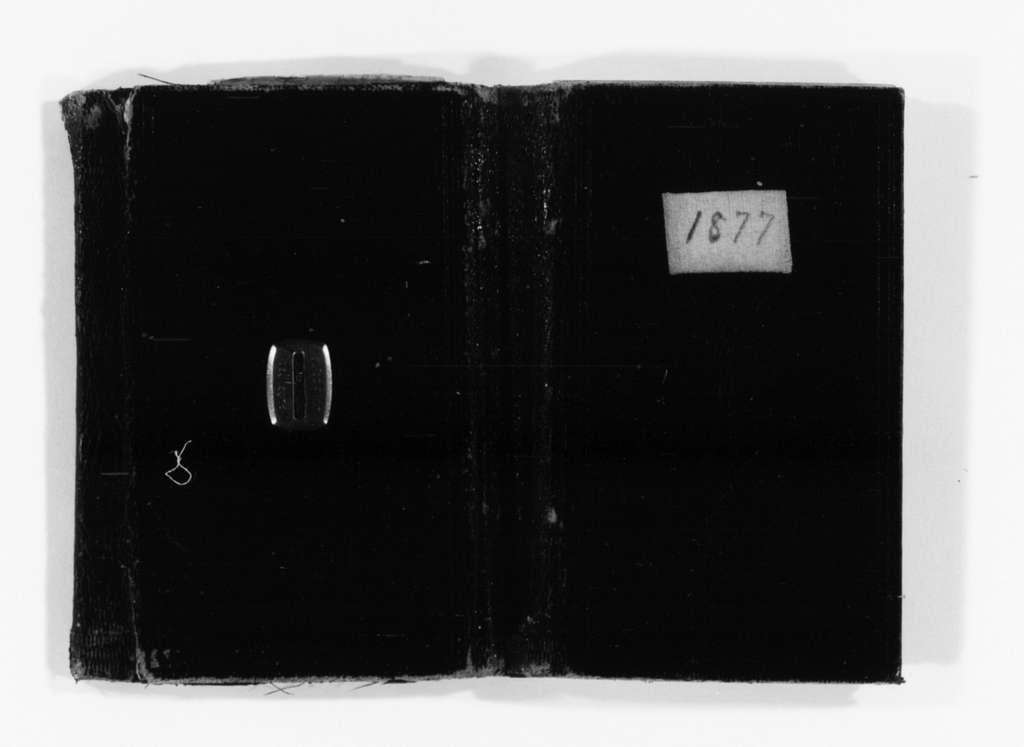 Susan B. Anthony Papers: Daybook and Diaries, 1856-1906; Diaries; 1877