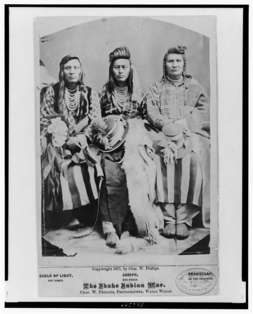 The Idaho Indian war / Chas. W. Phillips, photographer, Walla Walla.