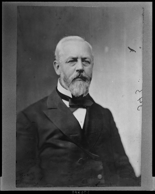 [William Aldrich, Republican Congressman from Illinois, head-and-shoulders portrait, facing front] / Brady.