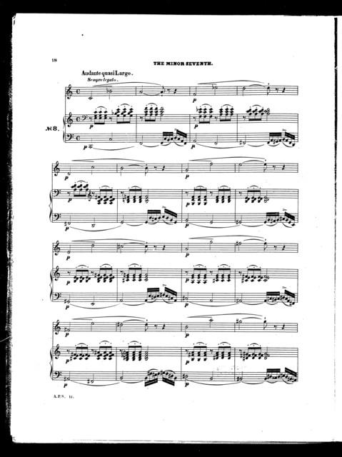 XIV vocal exercises