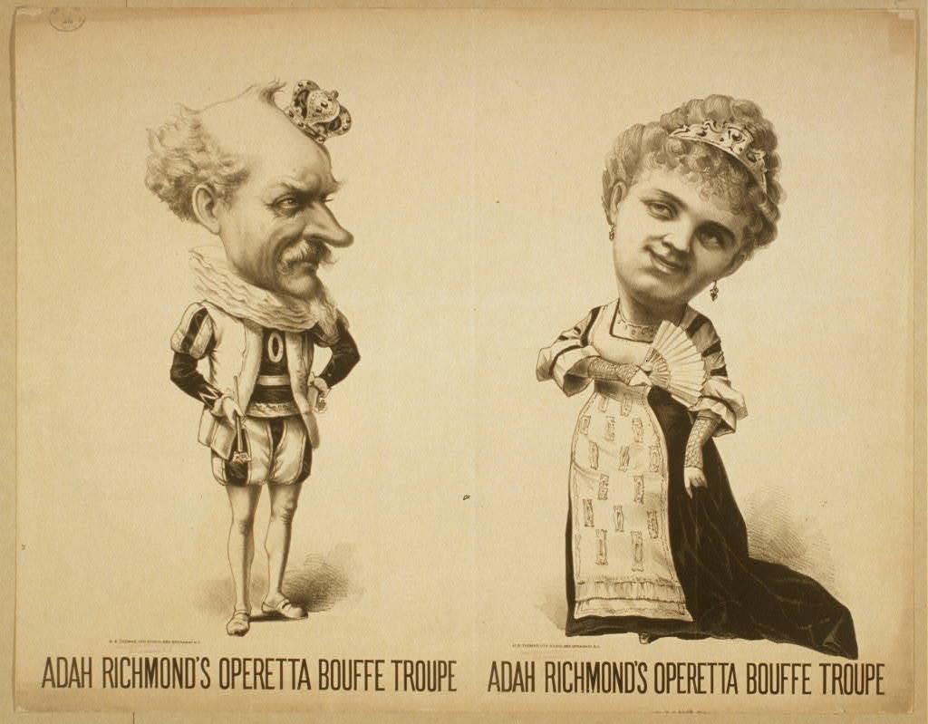 Adah Richmond's Operetta Bouffe Troupe