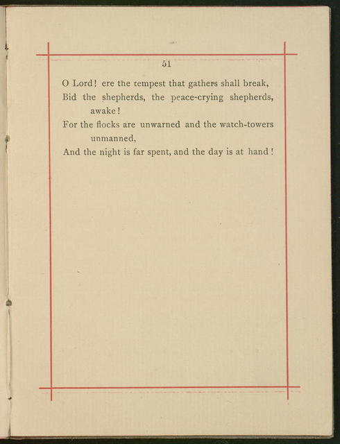 """Booklet, """"Waiting for the Morning and Other Poems"""" by Horatio Gates Spafford"""