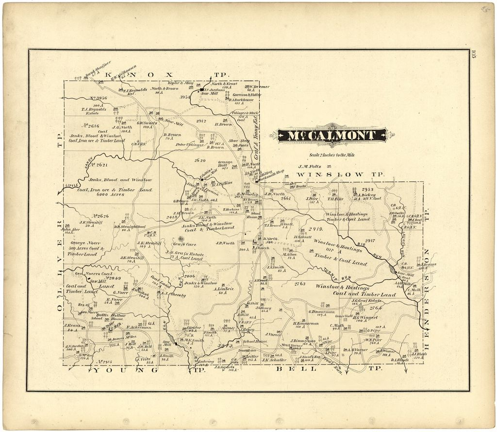 Caldwell's illustrated, historical, combination atlas of Jefferson County, Pennsylvania /