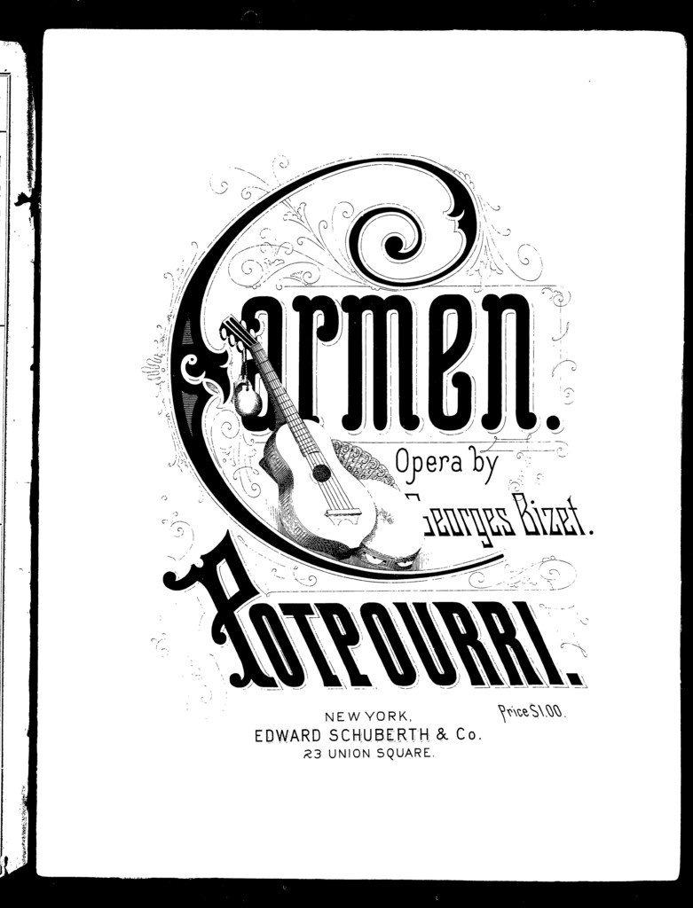 Carmen, potpourri