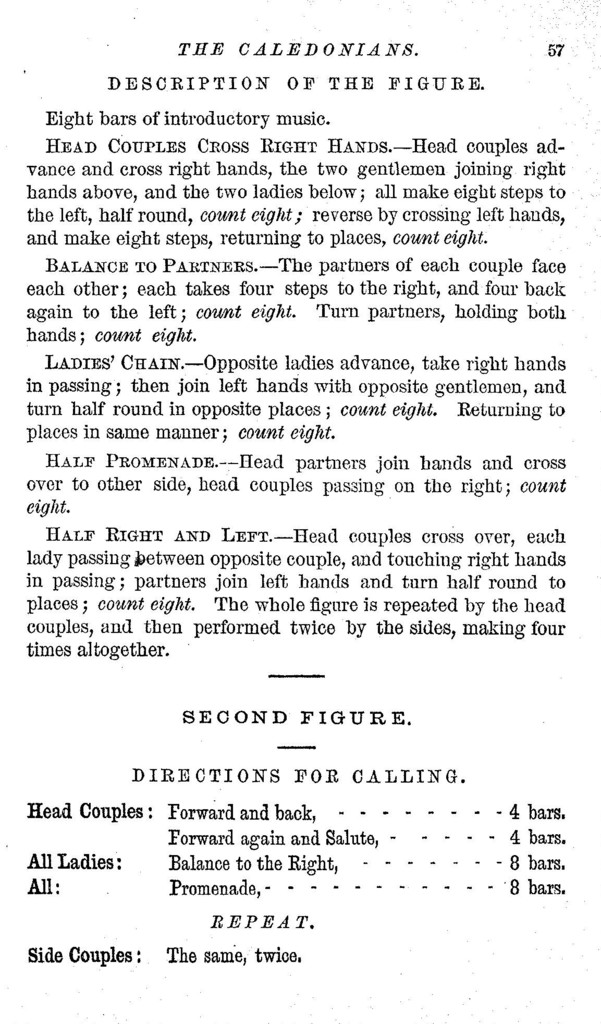 Dick's quadrille call-book, and ball-room prompter To which is added a sensible guide to etiquette and proper deportment in the ball and assembly room, besides seventy pages of dance music for the piano