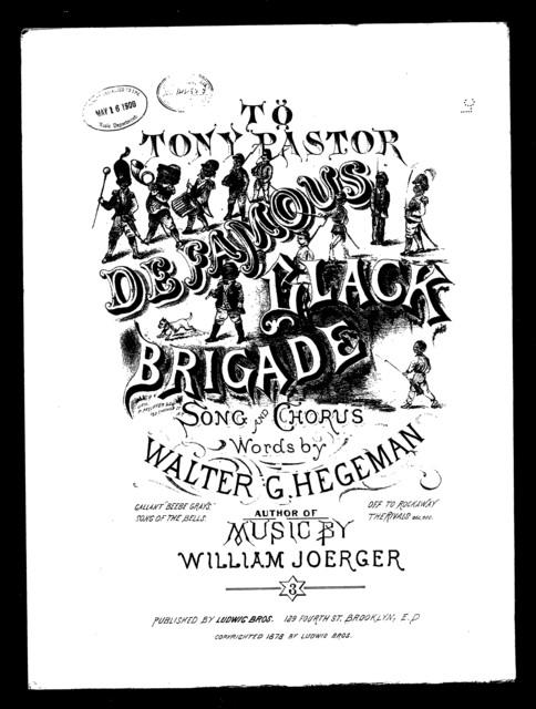 Famous black brigade, De