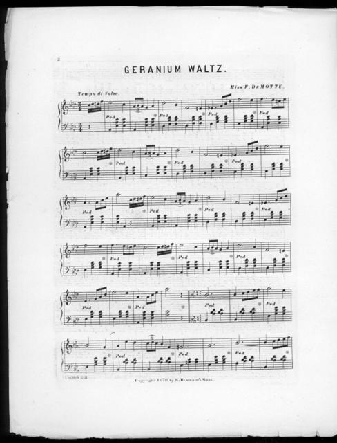 Geranium waltz