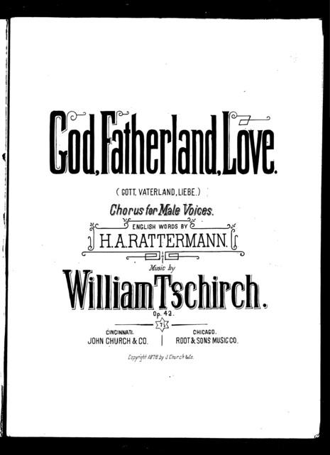 God, fatherland, love - Gott, vaterland, liebe