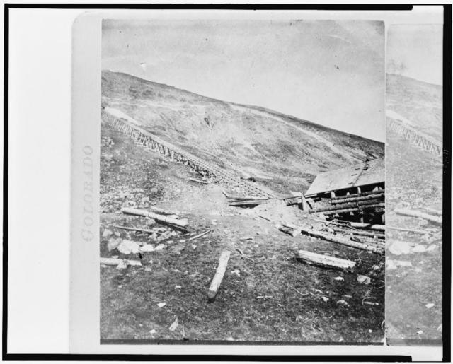 Gray's Peak / photographed and published by W.G. Chamberlain, Denver, Colorado.