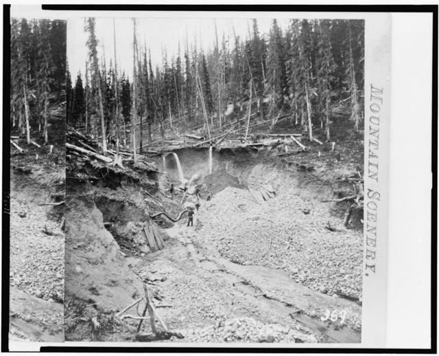 [Hydraulic mining, California gulch, Colorado]
