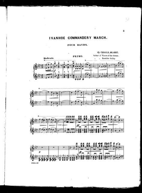 Ivanhoe Commandery march