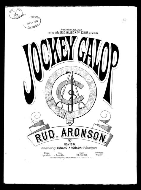 Jockey galop