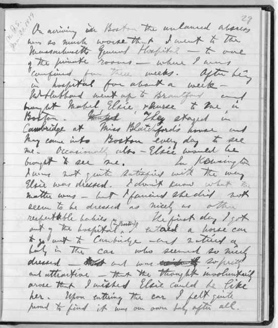 Journal by Alexander Graham Bell, from November 25, 1878 to July 22, 1879