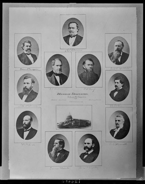 Michigan delegation, Forty fifth Congress, 1878