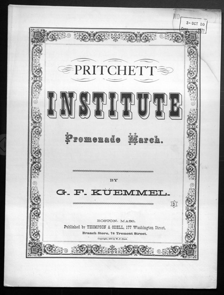 Pritchett institute