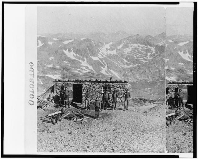 South Park, & Mt. Lincoln / photographed and published by W.G. Chamberlain, Denver, Colorado.