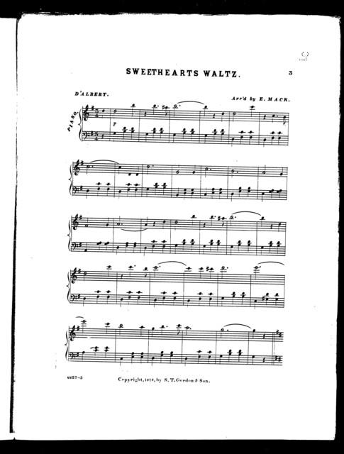 Sweethearts waltz