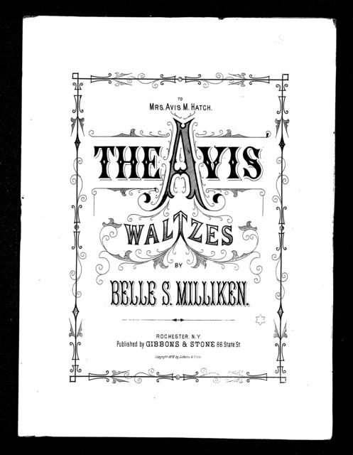 The  Avis waltzes