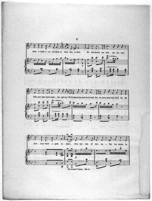The  doctors' chorus