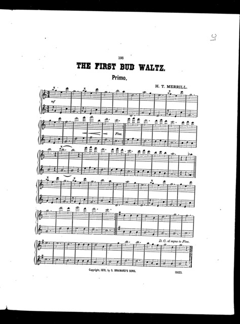 The  First bud waltz