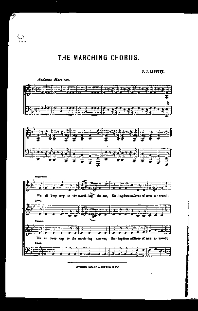 The  Marching chorus