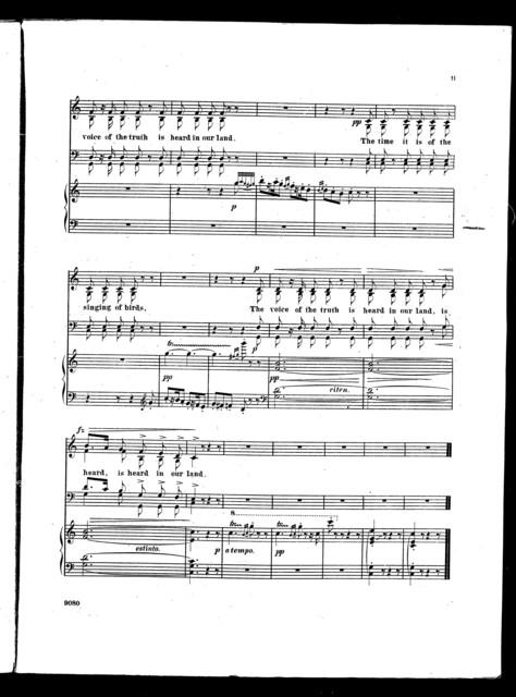 The  Singing of birds
