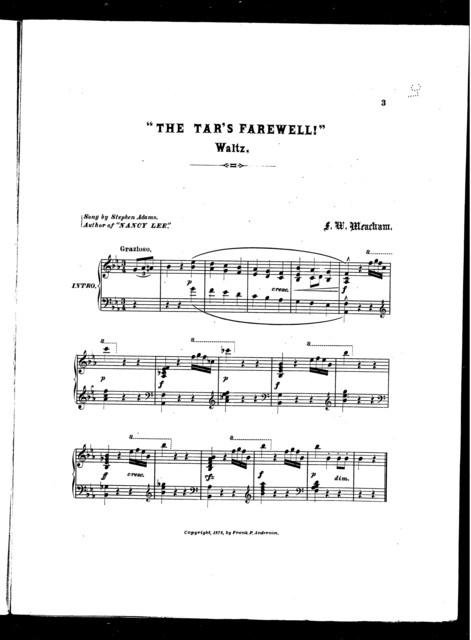The  Tar's farewell waltz
