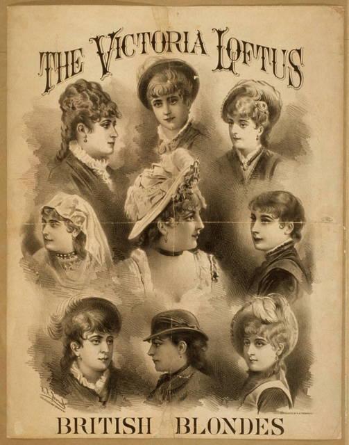 The Victoria Loftus British Blondes