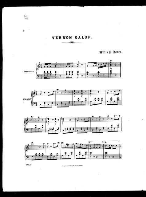 Vernon galop