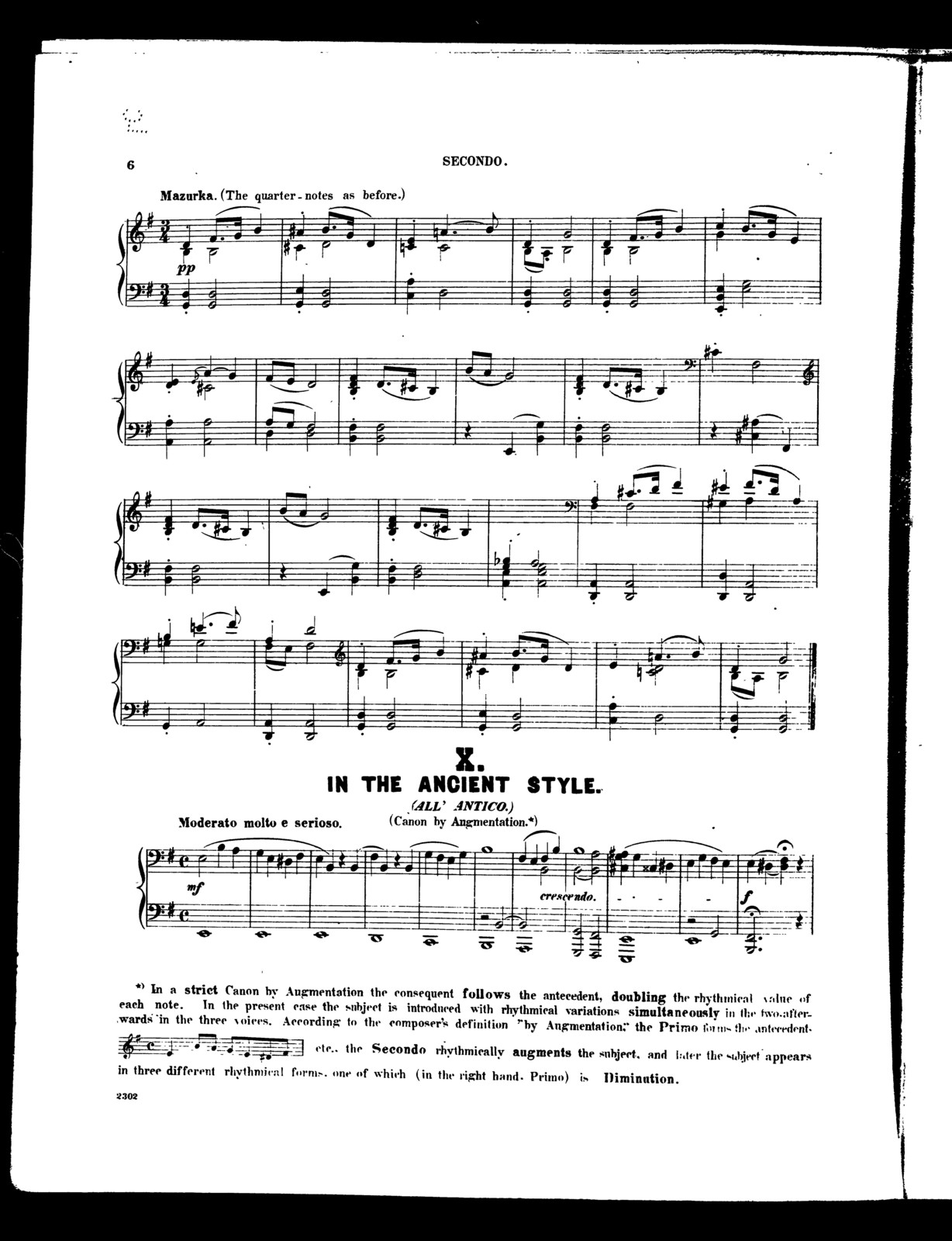 12 Studies for the piano, book II