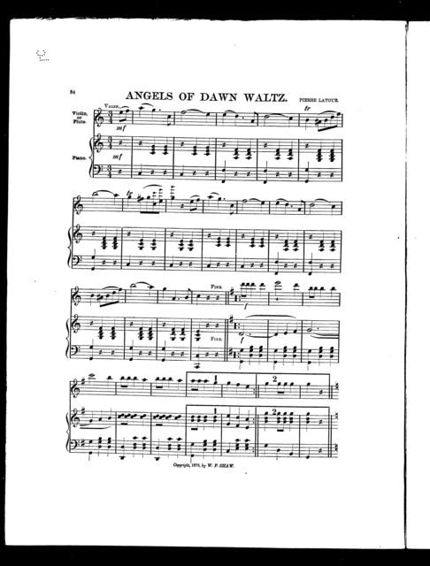 Angels of dawn waltz