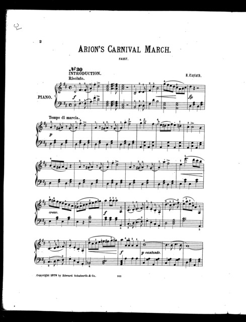 Arion's carnival march