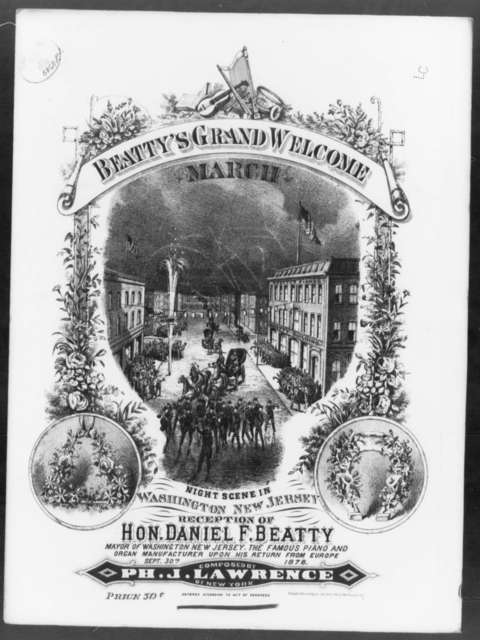 Beatty's grand welcome march
