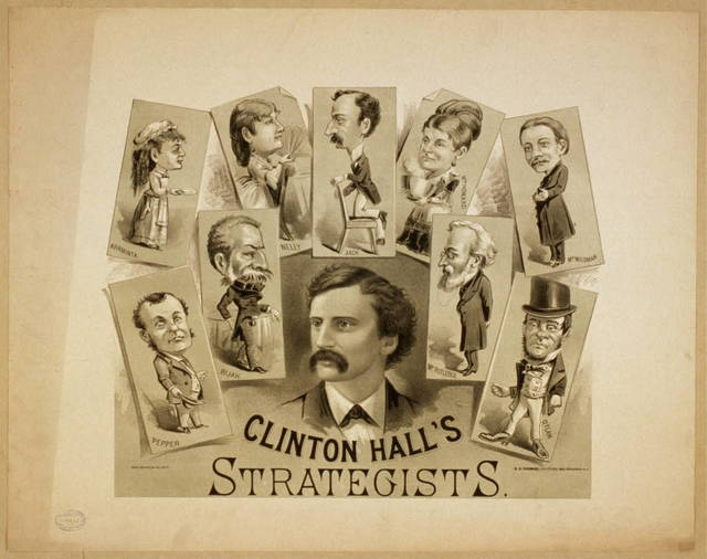 Clinton Hall's Strategists